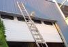 Aluminium schuifladderladder voor hoge klus