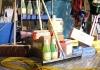 Grote sortering schoonmaakproducten
