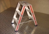 Aluminium trap 3 treden dubbel oploopbaar